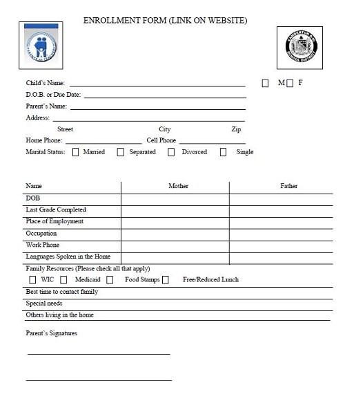 PAT Enrollment Form \u2013 Parents as Teachers \u2013 Camdenton R-3 School