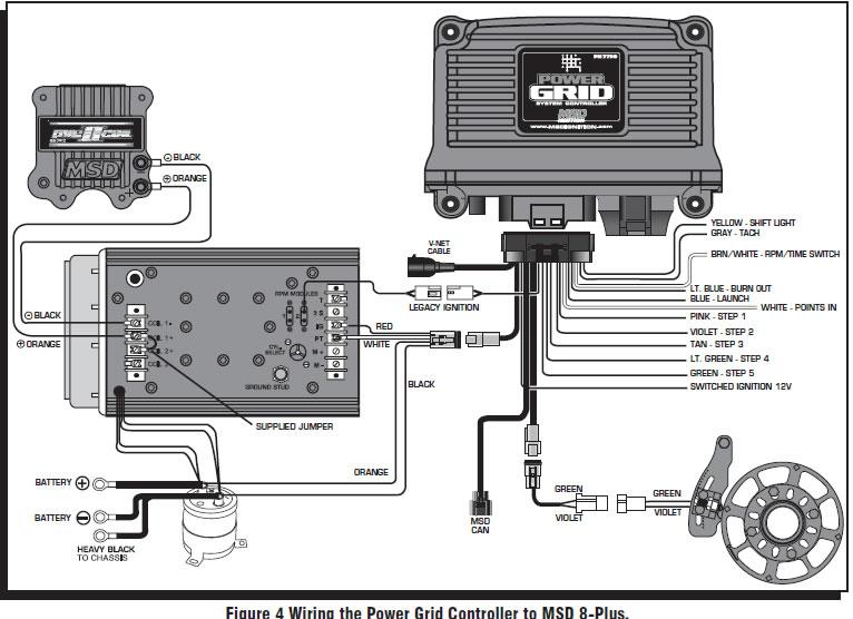 msd grid to 6al wiring diagram