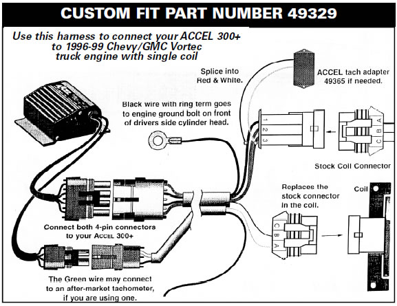 tachometer wiring for a rotary engine