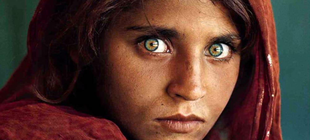 Afghan Girl Eyes Wallpaper Steve Mccurry In Mostra Dal 3 Febbraio Al 1 176 Luglio 2018