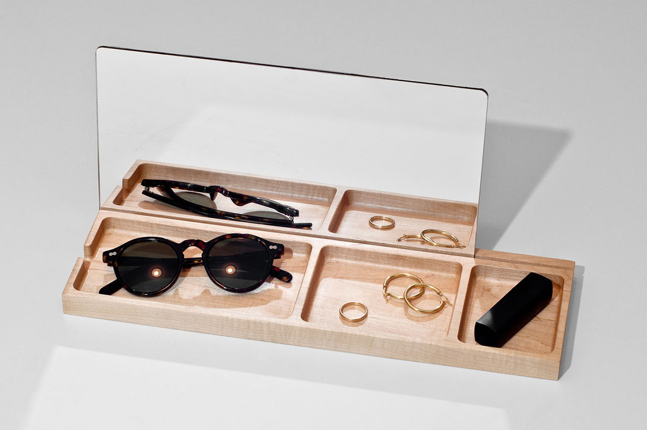 Desk Organizer Design New Maple Organizers From Atelier D Design Milk