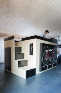 A Cube-Like Room Within a Room - Design Milk