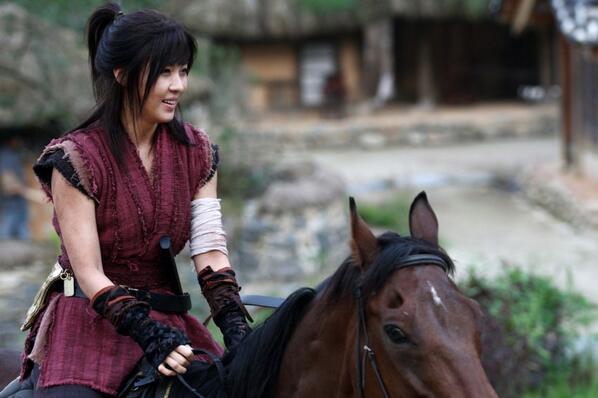 Ji Chang Wook Hd Wallpaper Ha Ji Won Is A Charismatic Horseback Rider For New