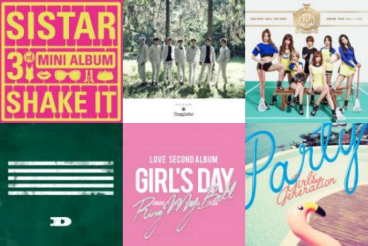 Weekly K-Pop Music Chart 2015 u2013 July Week 4 Soompi - music chart