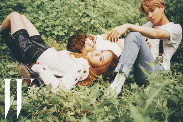 Shinee Dream Girl Wallpaper Shinee S Taemin Exo S Kai And F X S Krystal Show Off