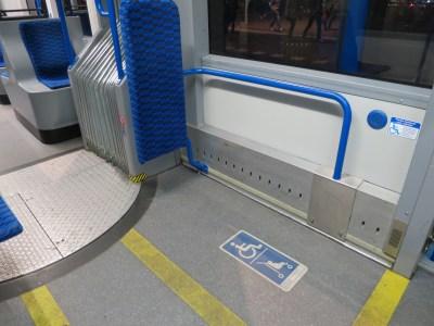 Tram Amsterdam Accessibilité PMR 2