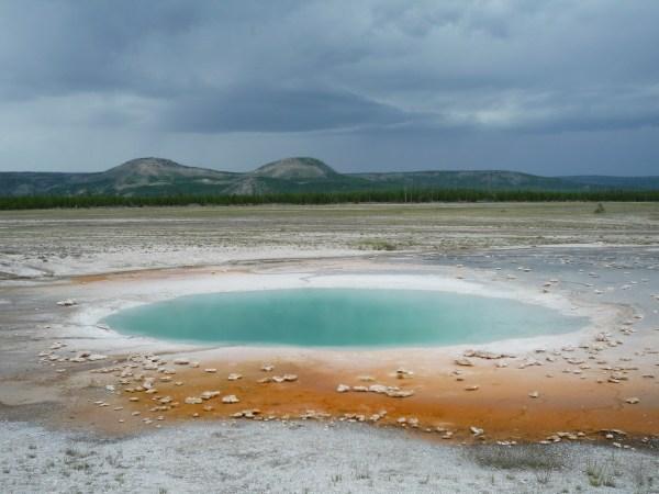 Ouest américain Yellowstone National Park Midway Geyser Basin