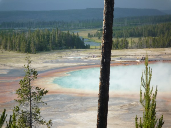 Ouest américain Yellowstone National Park Midway Geyser Basin Grand Prismatic