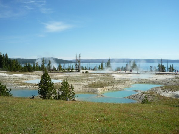 Ouest américain Yellowstone National Park West Thumb