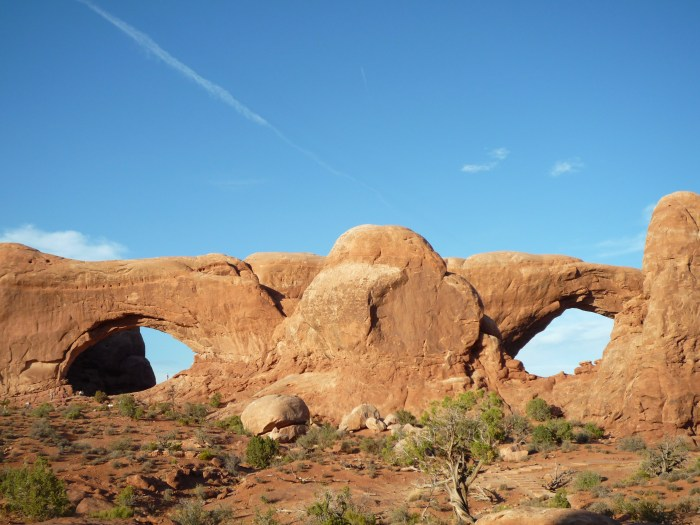 Ouest américain Arches National Park Windows