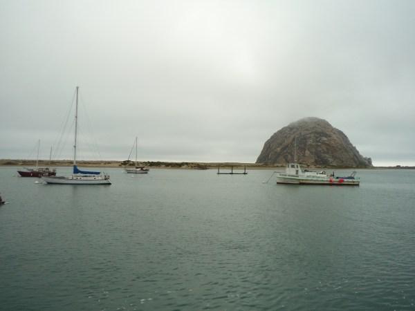 Ouest américain California Morro Rock