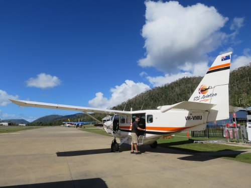 Whitsunday GSL plane