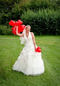 balloon bride