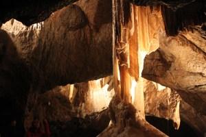 exploring cave