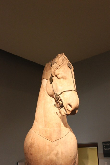Horse from the Mausoleum of Halikarnassos