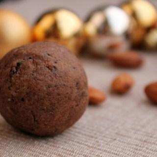 Nougat Mocha Christmas Bites