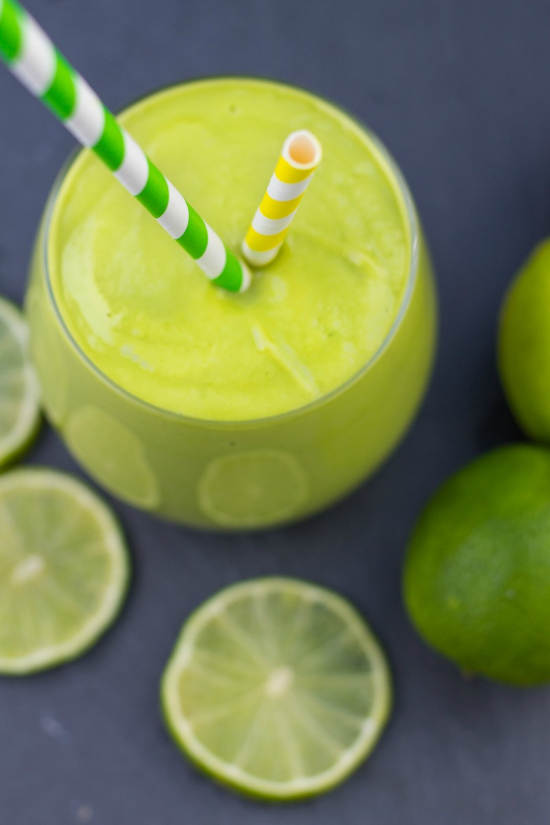 Healthy Key Lime Pie Smoothie-31
