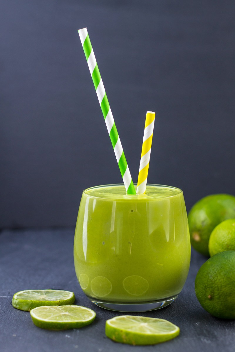 Healthy Key Lime Pie Smoothie-51