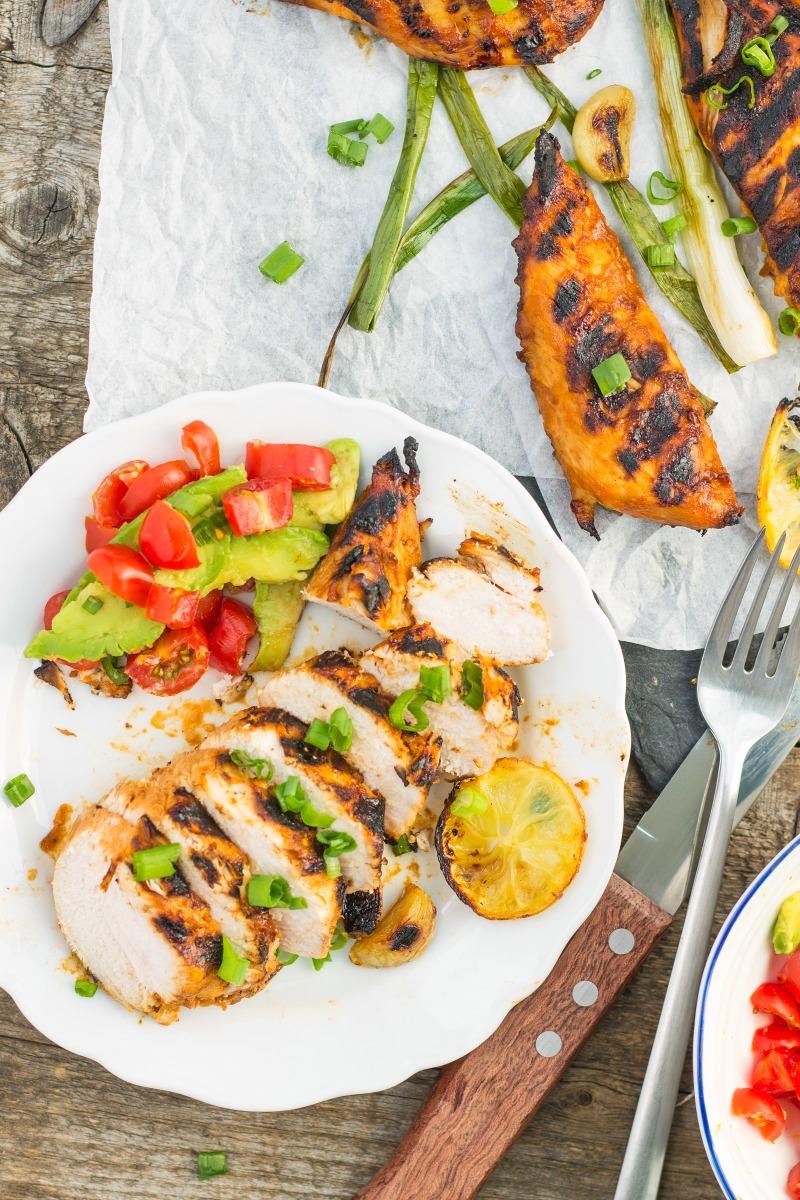 Lemon & Garlic BBQ Chicken Recipe