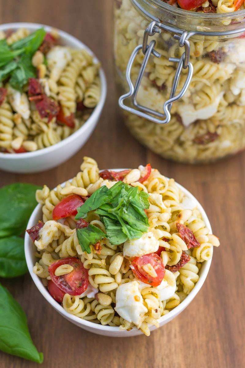 pest pasta salad-2