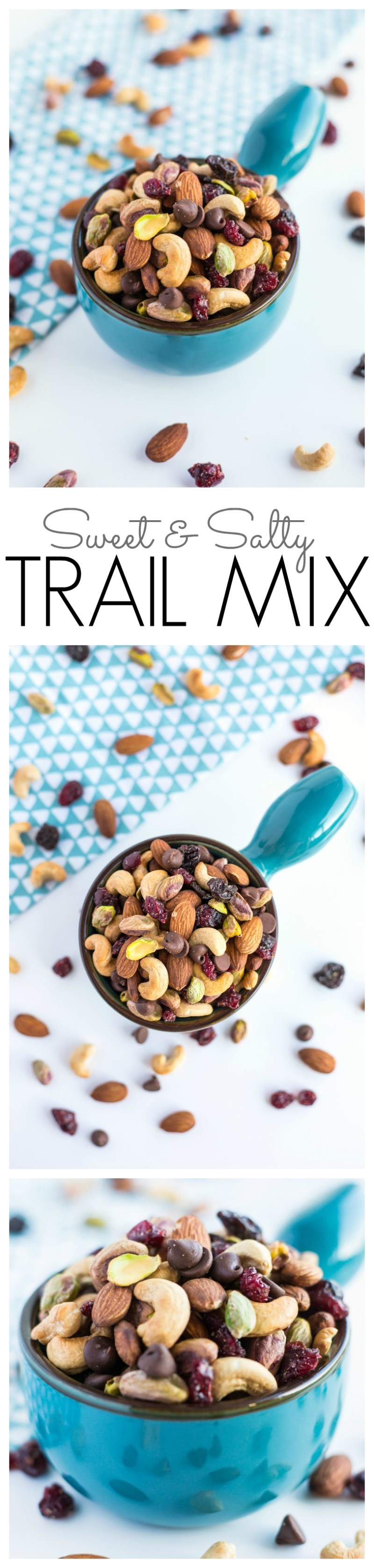 sweet and salty trail mix