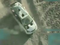 2018年のグングン動画。A-10に狙われたタリバンのステーションワゴンが(((゚Д゚)))