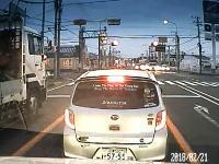 静岡でDQNダイハツ乗りが撮影される。当たられ屋で支配者でタイヤ冷えてる。