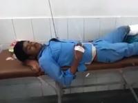 インドの病院がひどい。切断した左足をそのまま患者の枕として使用してしまう。