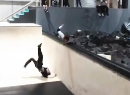 うわあ・・・。Xスポーツ練習場で起きたであまりにも酷い事故の映像。痛い。