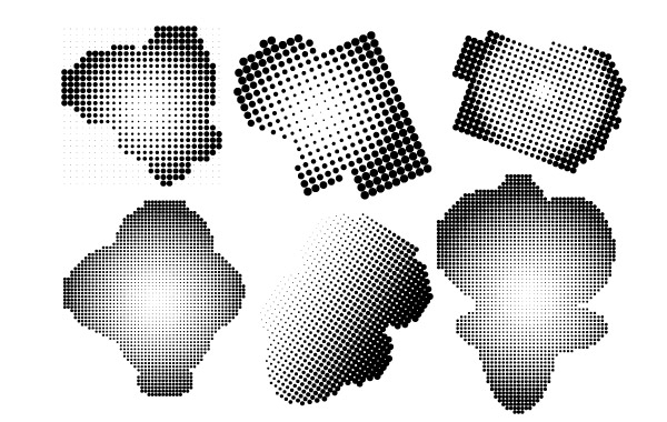 Free Vectors Halftone Free Vector and Photoshop Brush Pack 123
