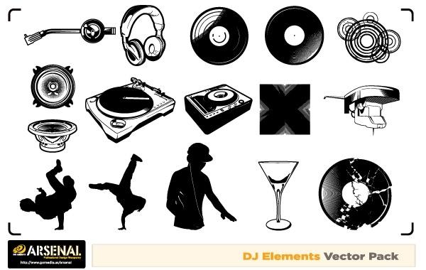 Free Vectors Free Dj  Graffiti vector artwork Go media