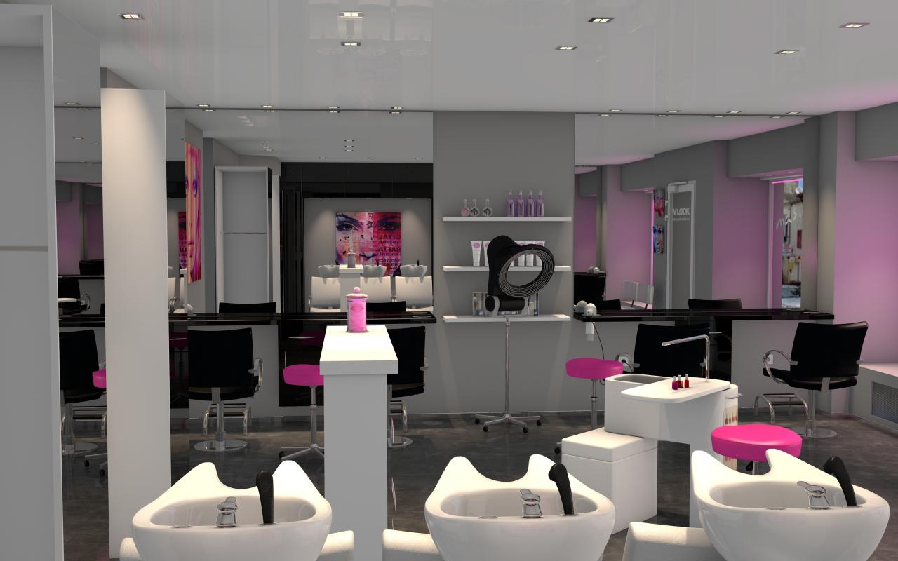 Salon De Coiffure Diamant Noir Best Salon Coiffeur Moderne Photos Awesome Interior Home