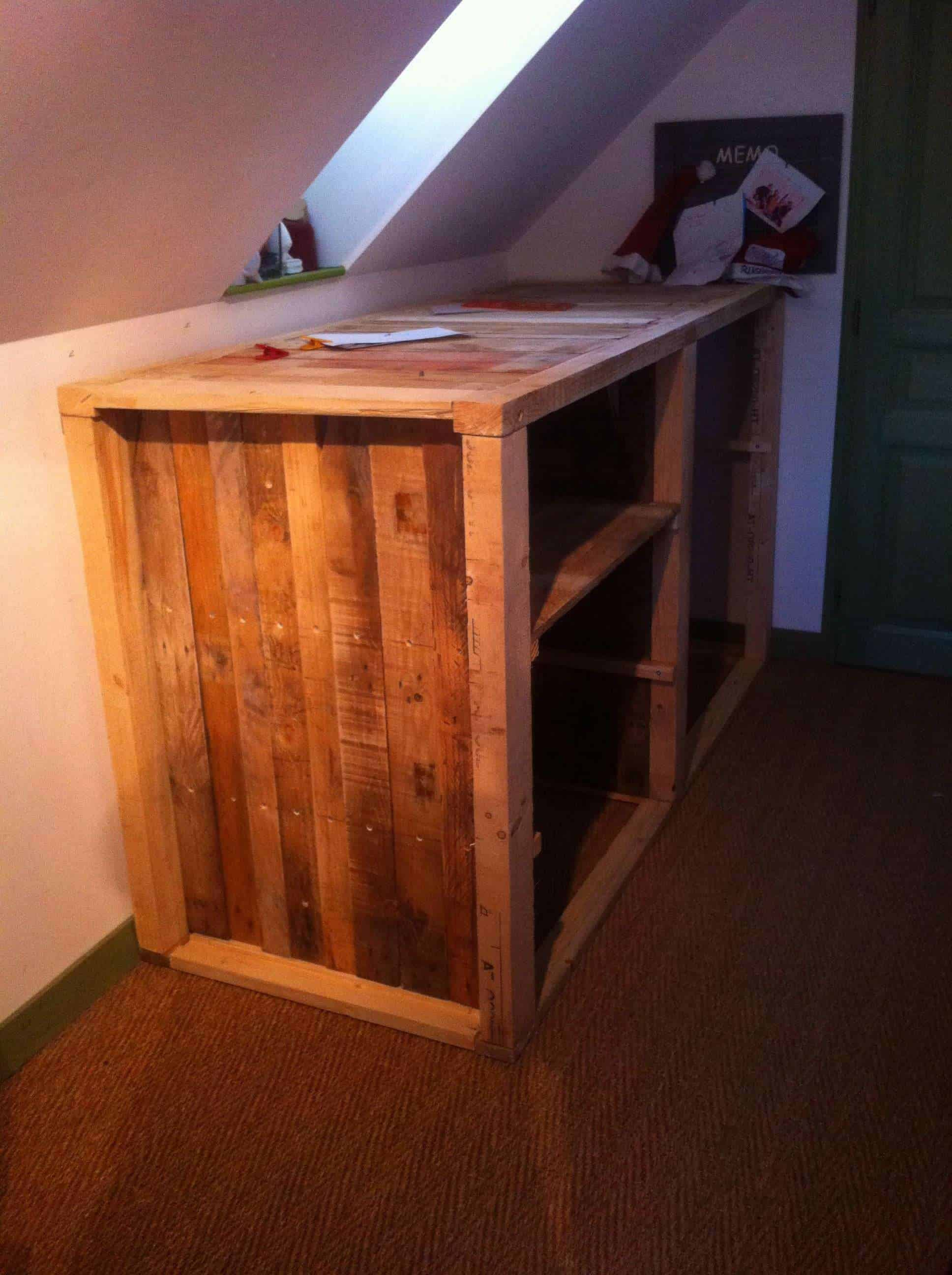 Meuble Sous Comble Meuble D Appoint Sous Comble Under The Roof Drawer 1001 Pallets