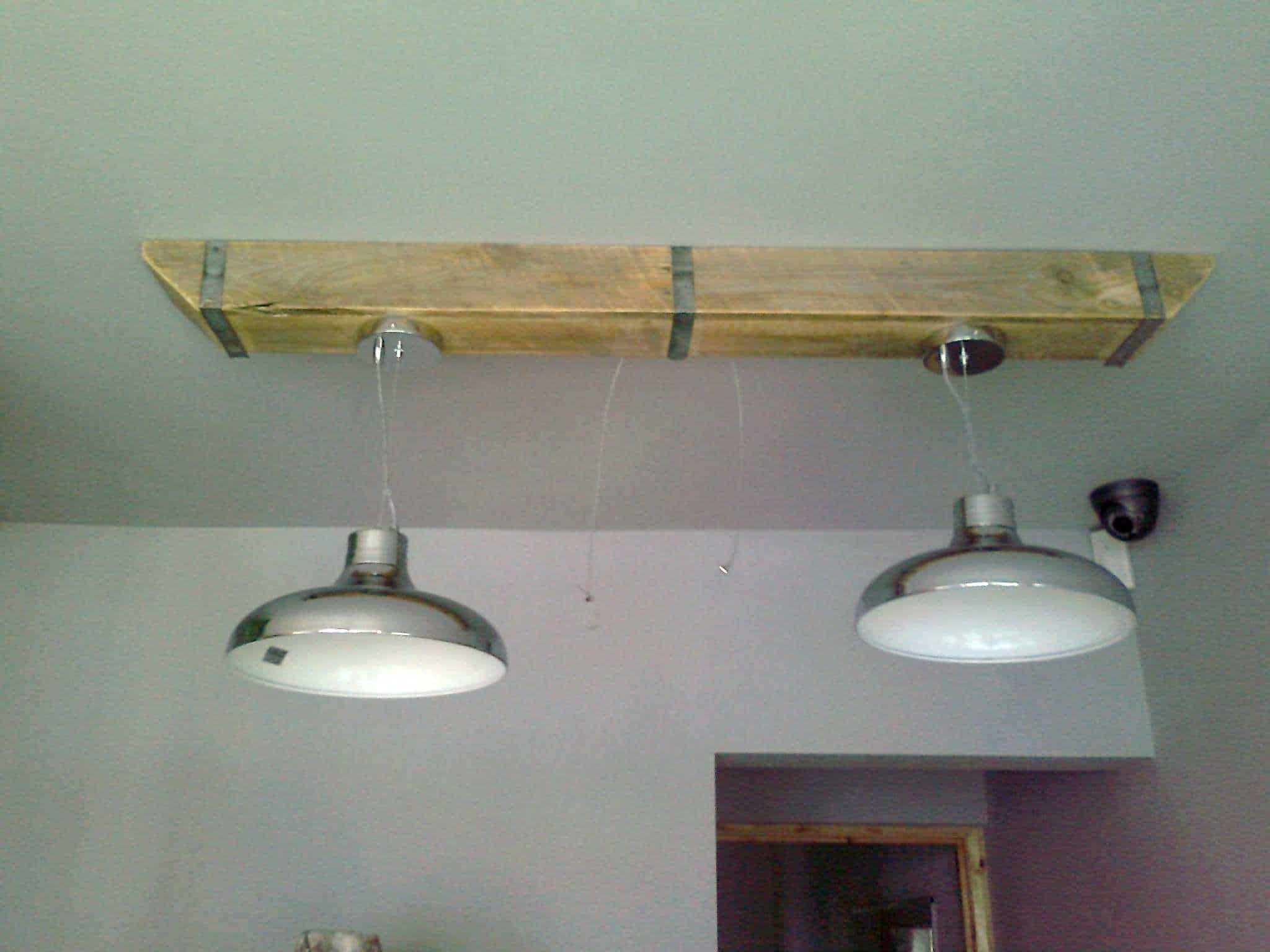 Wood Light Fittings Pallet Wood Box Beam For Over Counter Lighting 1001 Pallets