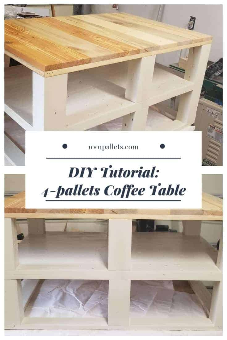 Diy Table With Pallets Pallet Coffee Table Diy Plans 1001 Pallets
