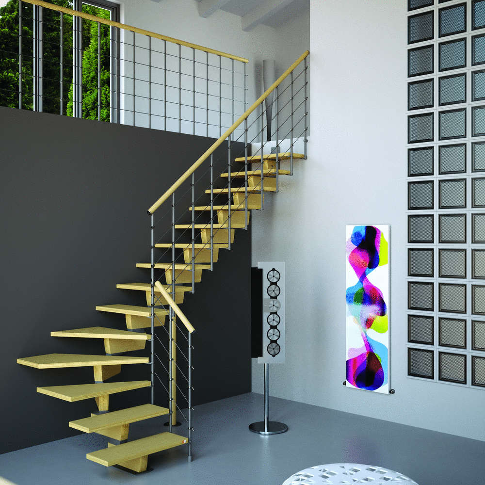 Open Staircase Design L00l Stairs Open Staircase Type
