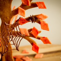 Halloween Gingerbread Tree