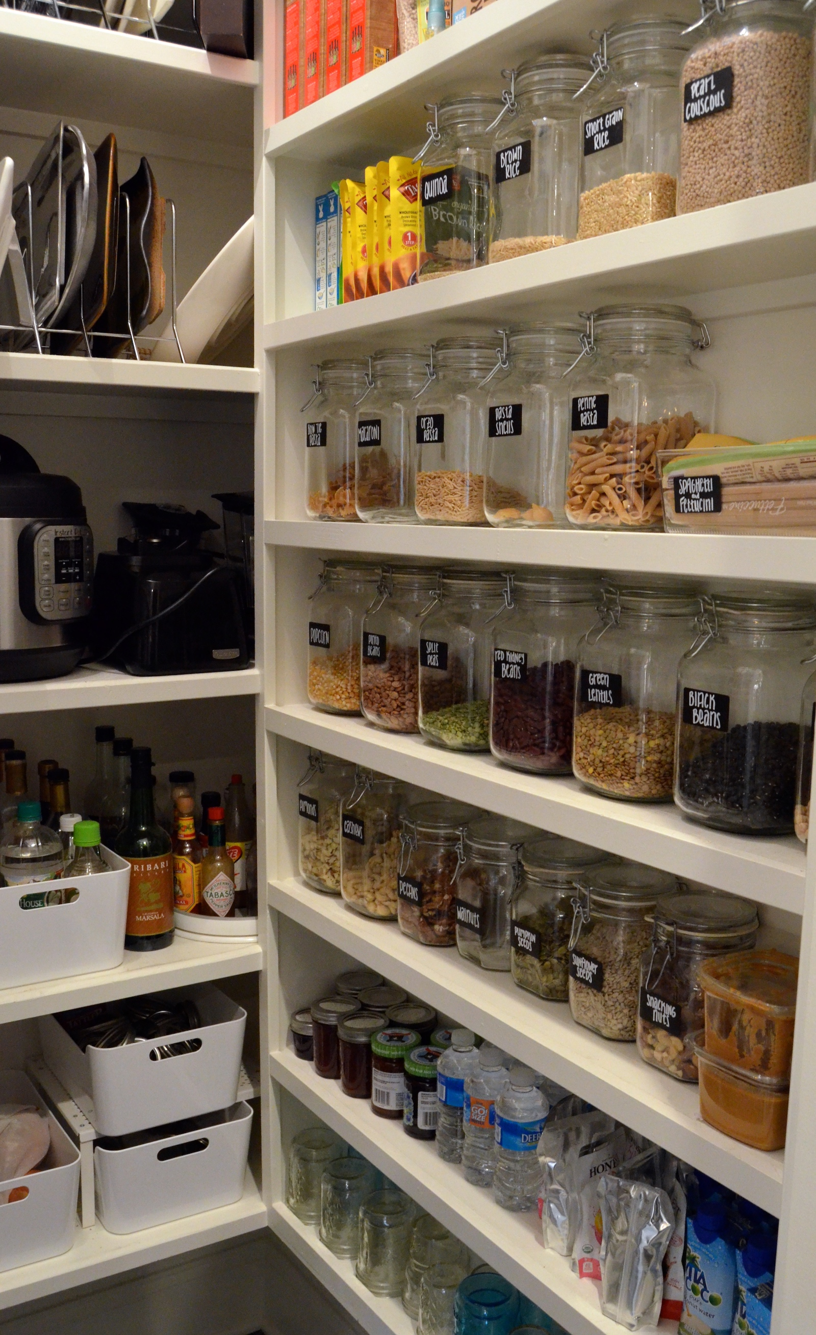 My Big Pantry Redo! How We Got Organized