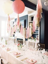 Modern pink bridal shower   Wedding & Party Ideas   100 ...