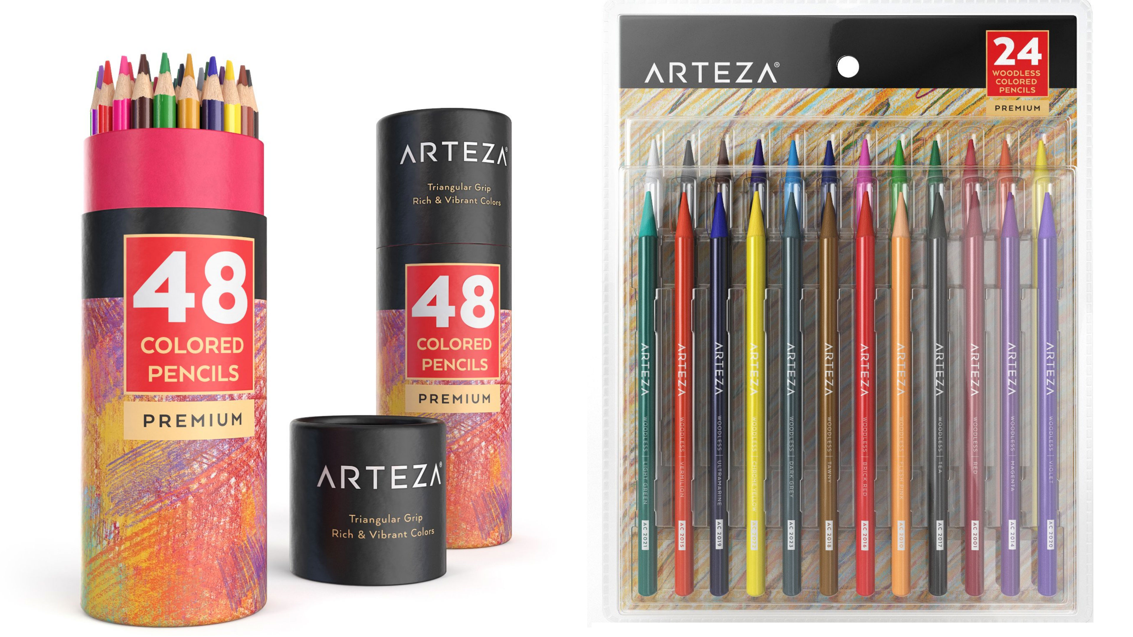 Arteza Address Product Review Demo Arteza Colored Pencils How To Draw