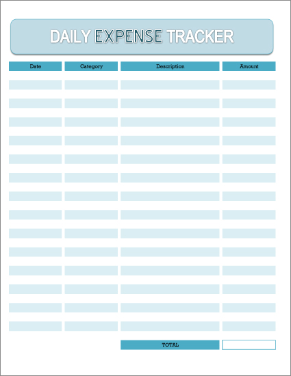 Spending Log Template Excel Monthly Bill Free Printable masterlist