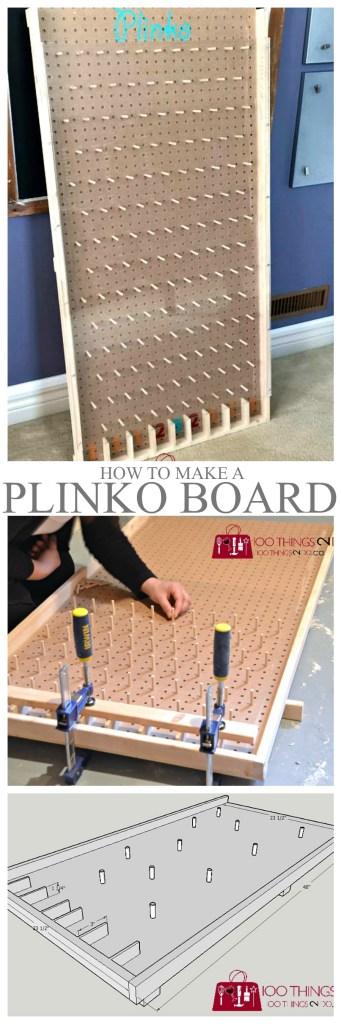 how to build a plinko game