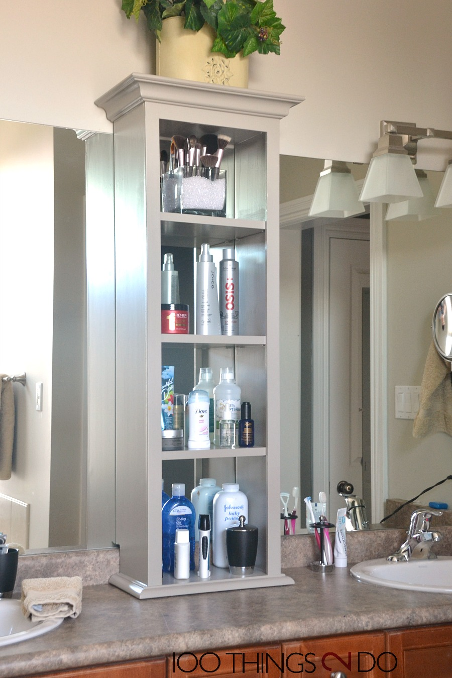 How To Make A Bathroom Vanity Cabinet Bathroom Vanity Storage Bathroom Storage Tower