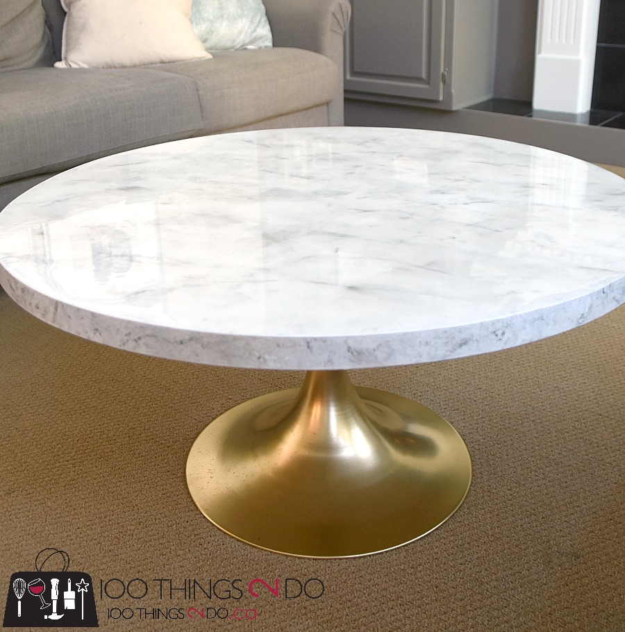Diy Faux Marble Coffee Table 100 Things 2 Do
