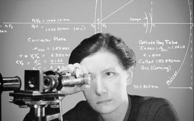Estelle Glancy, la première dame de l'optique