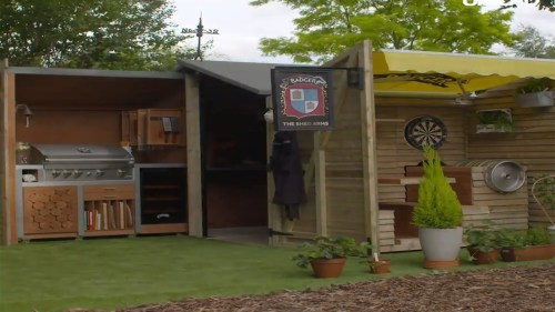 Medium Of Man Cave Shed