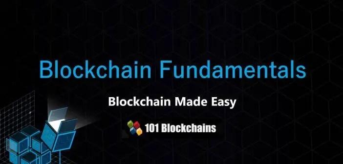 Blockchain Fundamentals Presentation - Introduction to Blockchain