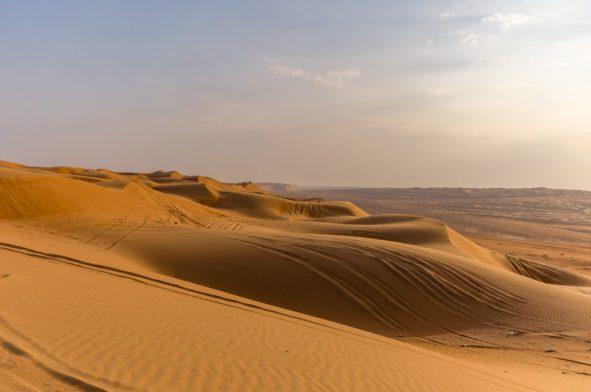 Pustynia Wahiba Sands, Oman