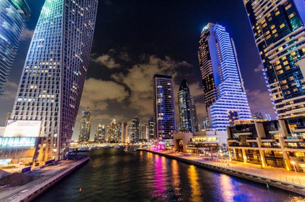 Marina Bay, Dubaj, Zjednoczone Emiraty Arabskie