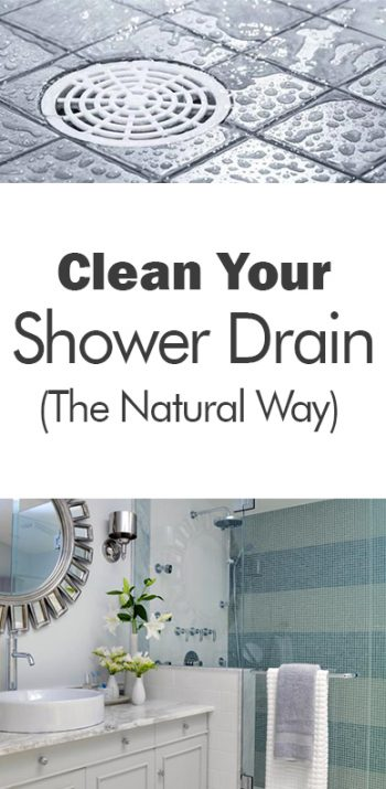 Clean Your Shower Drain (The Natural Way)